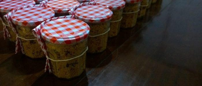 Taboulé in mason jars and other French delicacies